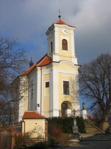Kostel Vlkoš