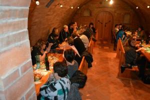 Vinný sklep s posezením
