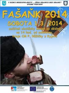 Fašaňk ve Vlkoši 2014