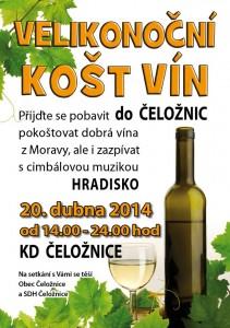 Košt vín Čeložnice