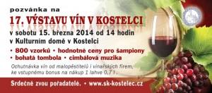 Výstava vín v Kostelci u Kyjova 2014
