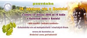 výstava vín kostelec 2016